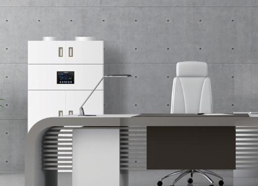 智能柜式新風機ZJM-G-1500ZS-A