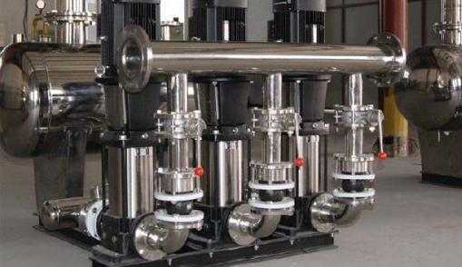 恒压供水设备变频控制柜调试安装