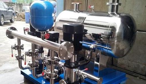 恒压供水设备变频水泵转速低是什么原因?